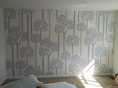 Tacoma, Gig Harbor, Seattle area wallcovering, wallpaper, and mural installation.