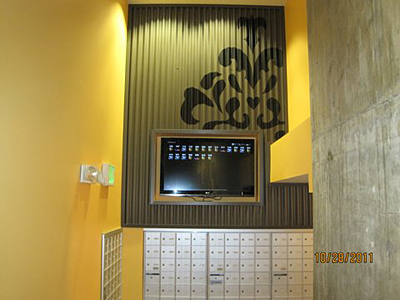 Seattle area wallcovering and mural installation